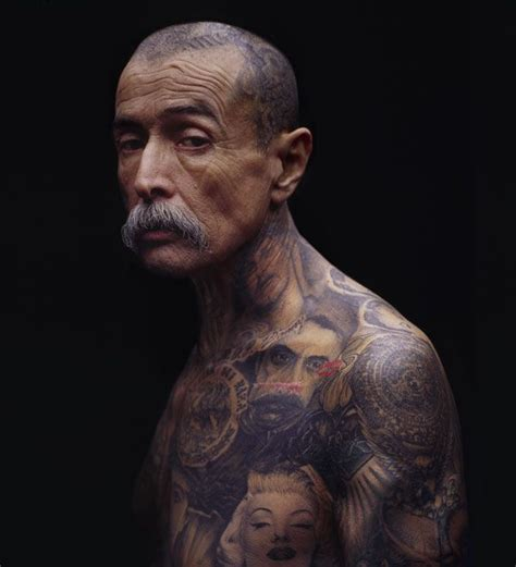 old man with tattoos tatoos tattoos