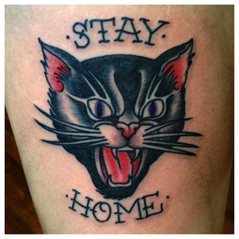 black cat tattoo aftercare hissing black cat tattoo tattoos pinterest black cat