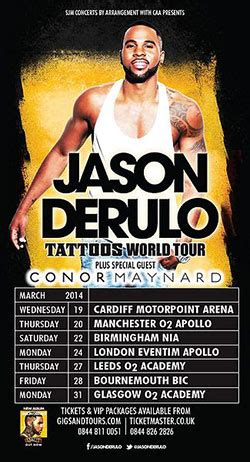 jason derulo poster jason derulo announces 2014 uk tour