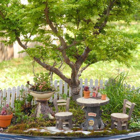 garden furniture the mini garden guru from