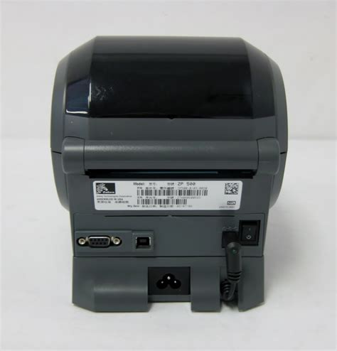 epl or zpl zebra zp500 plus epl zpl thermal label printer usb