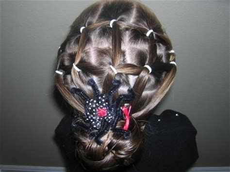 princess piggies hairdos spider web hairstyles for hair styles braiding princess