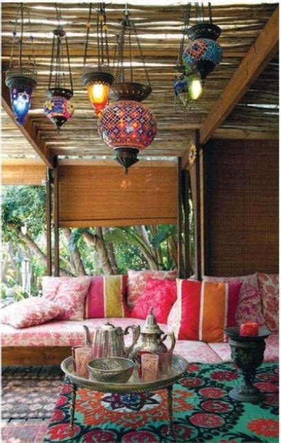 themed patio decor 55 charming morocco style patio designs digsdigs