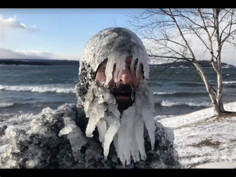 jerryism   christmas day presque isle surfing youtube