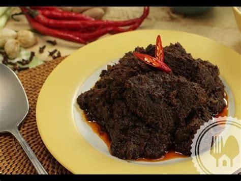 Rendang Solok resep rendang