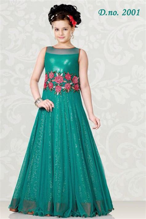 The Secure Home Design Group by Designer Party Wear Gown Style Lehenga For Children Kids