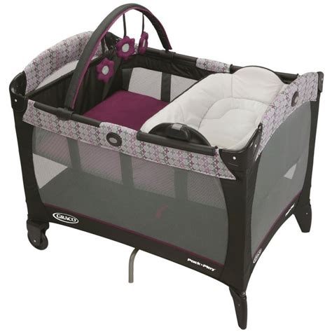 Graco Pack 39 N Play Playard On The Go Stratus graco pack n play playard with reversible napper and changer nyssa