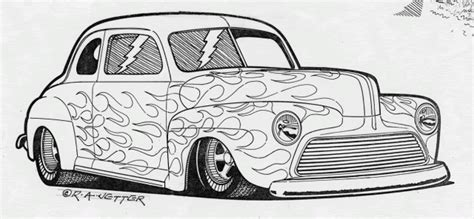 coloring pages of cars with flames 46 ford coupe car ford cars and