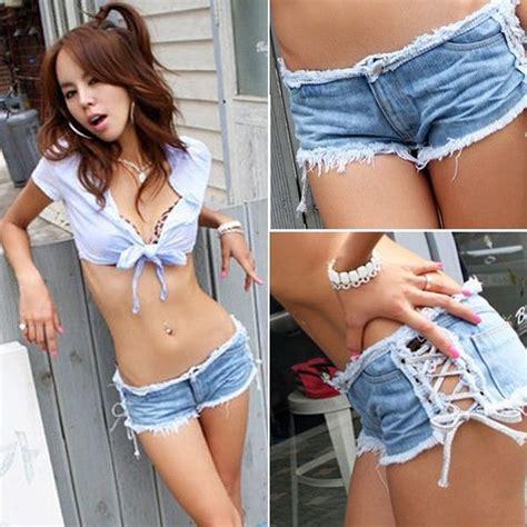 naughty cut off shorts new sexy women denim jeans shorts hot pants low waist