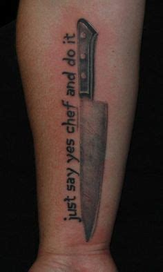new school chef tattoo 1000 images about chef knife ideas on pinterest knife