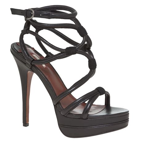 high heel sandals black strappy sandals high heel heels me
