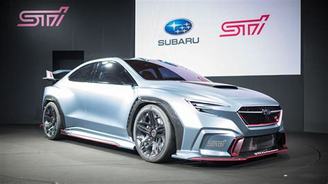 subaru sti 2020 concept the subaru viziv performance sti concept probably isn t