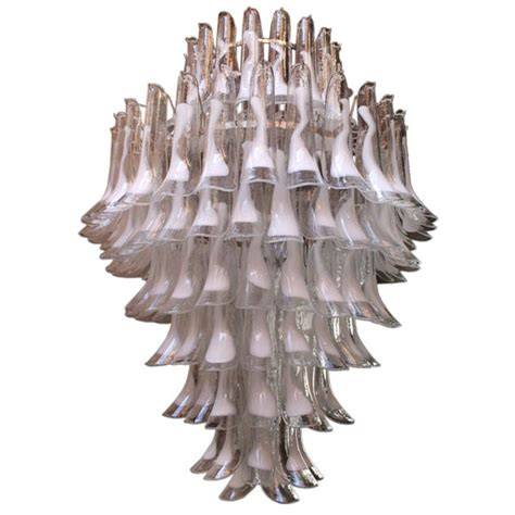 Sconces Modern Important Mazzega Murano Chandelier At 1stdibs