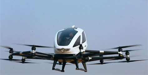 Drone Ehang 184 ehang 184 passenger drone now in in new