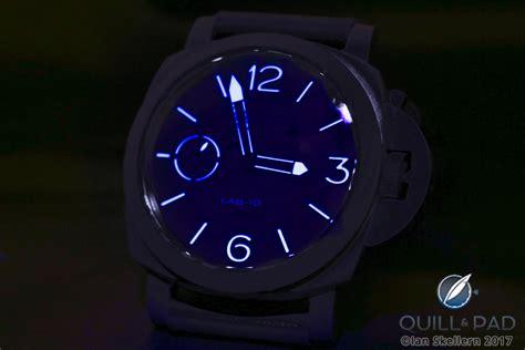 Panerai Lab Id Black Blue the panerai lab id luminor 1950 carbotech 3 days with 50