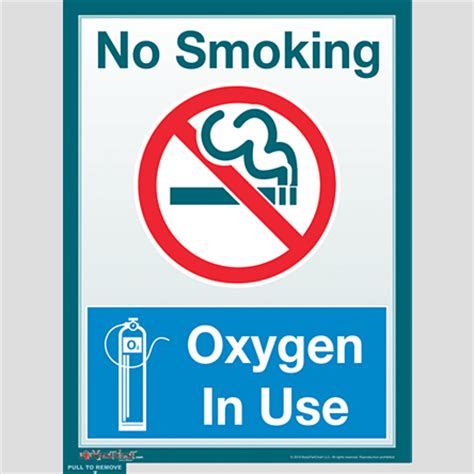 no smoking sign use no smoking oxygen in use sign bodypartchart official site