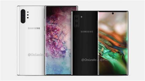 Samsung Galaxy Note 10 Quando Esce by Samsung Galaxy Note 10 Pro Render E Differenze Con Note 10 Gizblog