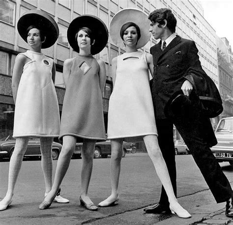 fashion at age 60 avengers in time 1968 fashion pierre cardin space age look