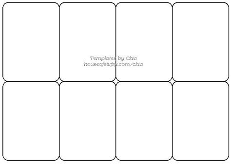 printable flash card maker front and back blank playing card template template