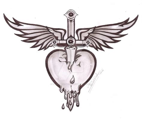 bon jovi heart by tomasbartwork on deviantart