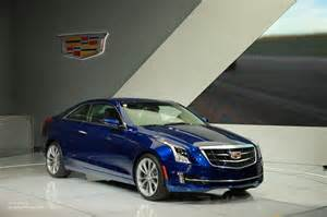 2014 Cadillac Ats Coupe Price 2014 Cadillac Ats Coupe Blue Top Auto Magazine