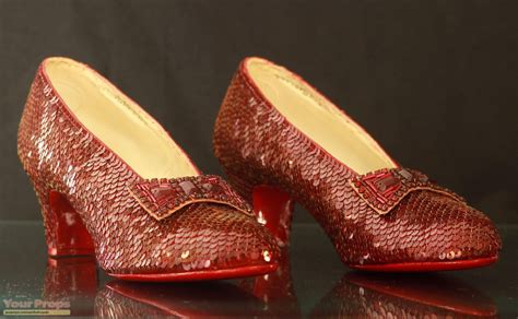 wizard of oz slippers the wizard of oz ruby slippers replica movie costume
