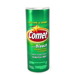 how to clean a bathtub with comet comet disinfectant cleanser with bleach drugstore com