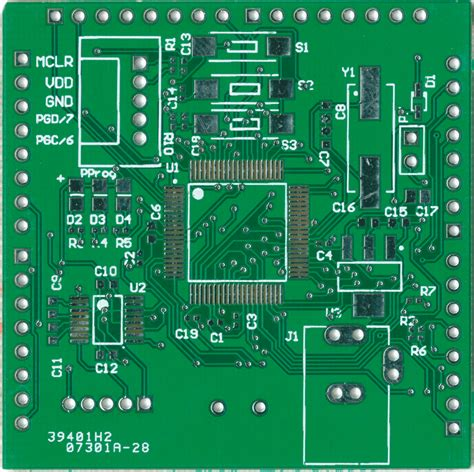circuit board animation pcb and place