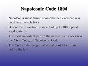 the code napoleon or the civil code literally translated from the original and official edition published at in 1804 classic reprint books napoleon ppt