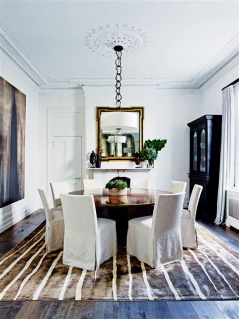 Formal Dining Room Rugs by Striped Rug Formal Dining Rooms And Sydney On