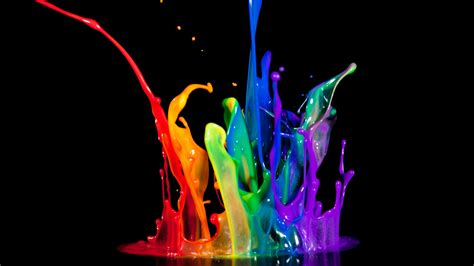 colorful things wallpaper if you search 3d color splash it can bring up things like