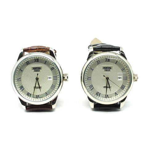 Mortima Jam Tangan Kasual Pria Leather Model 1 mortima jam tangan kasual pria leather model 5