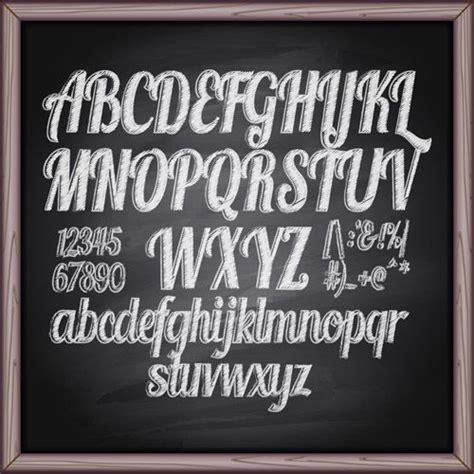 Chalkboard Letters