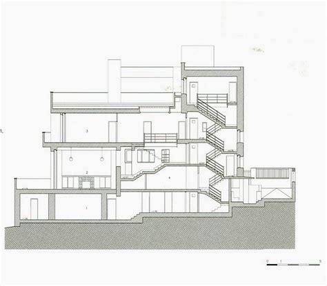 Villa Savoye Floor Plan by Exam Ii Design Studies 501 With Monica Penick At