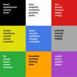 what does color mean the psychology of logo design webdesigner depot