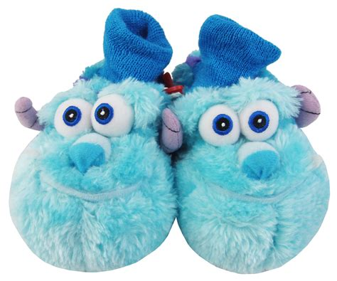 sully slippers baby infant boys monsters inc warm novelty