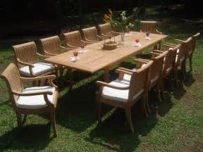 Large Patio Table Large Teak Dining Sets Mediterranean Patio Furniture And Outdoor Furniture Los