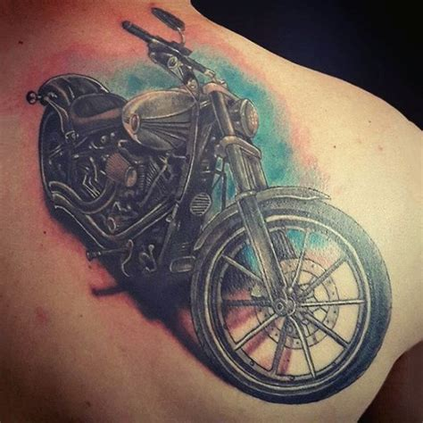 triumph motorcycle tattoo designs 90 harley davidson tattoos for manly motorcycle designs