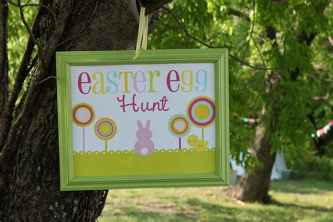 idea hunt easter egg hunt party