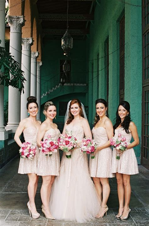 Target Go Is Planning Ahead With Erin Fetherston by Jeffrey Pink Roses Blush Bridesmaid Dresses