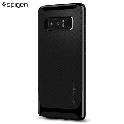 Samsung Galaxy Note 8 Neo Hybrid Black Soft Tpu husa samsung galaxy note 8 originala spigen neo hybrid shiny black