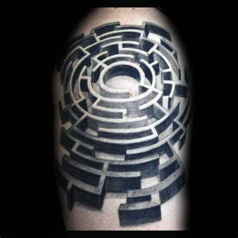 maze tattoo designs 60 labyrinth designs for maze ink ideas