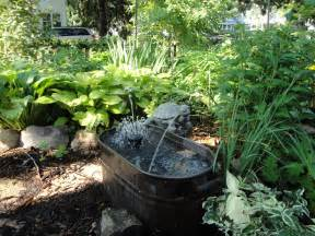 Backyard Water Features Ideas Home Garden Designs Landscaping With Water Fountains Ideas