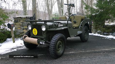 1951 Willys Jeep 1951 Willys M38 Jeep