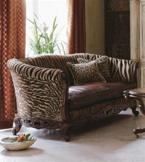 animal print couch 25 ideas to use animal prints in home d 233 cor digsdigs