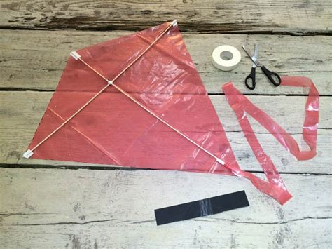 How To Make A Kite Out Of A Paper Bag - how to make a kite worldation
