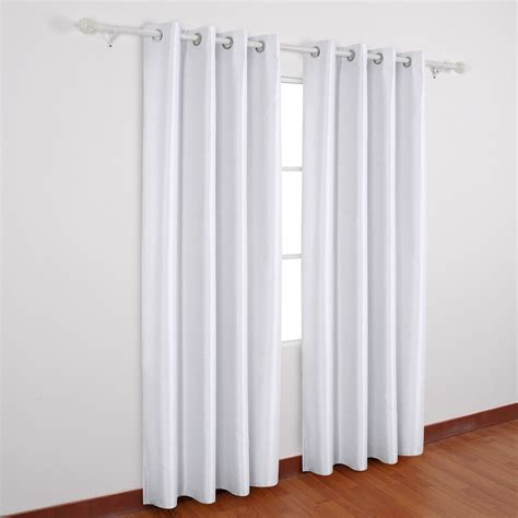 Insulated Thermal Curtains White Insulated Grommet Curtains Commonwealth Weathermate Insulated Grommet Top Curtain