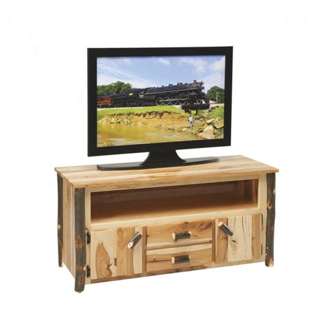 rustic tv stand rustic tv stand amish crafted furniture
