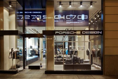 porsche design store porsche design store in san francisco 187 retail design