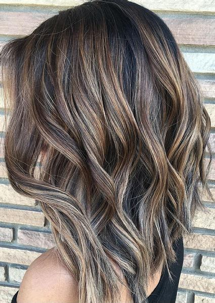 highlighted hair for brunettes over 50 mechas de colores para rubias y morenas fotos ideas y